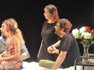 L'analyse des sentimentssera le fil conducteurde la pièce./DR.Justine Ducat.