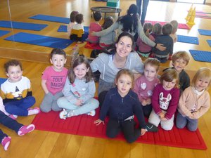 De la gym mini avec Marina Plouchard