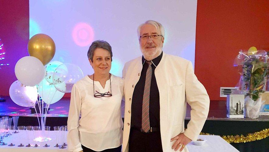 Cathy et Jean-Louis ont fêté leurs 50 ans de mariage.