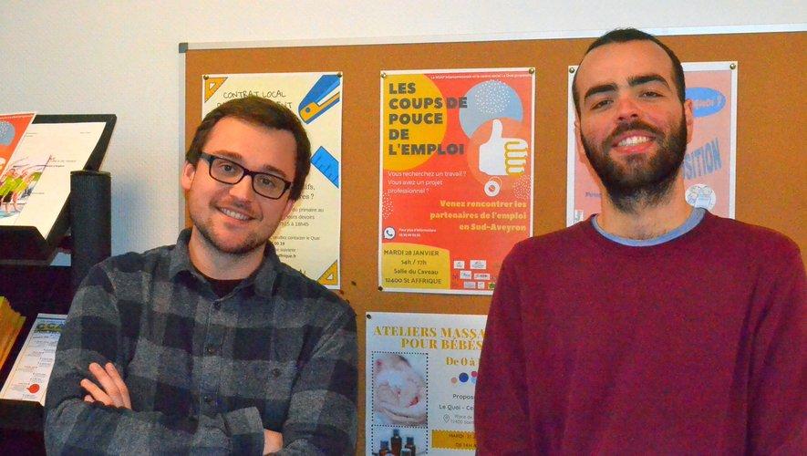 Julien Barthélémy et Antony Gayraud coordonnent le projet.