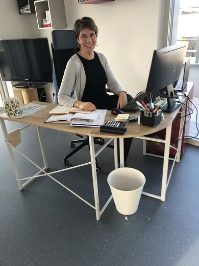 Eugénie Coursault, la coordinatrice du dispositif.
