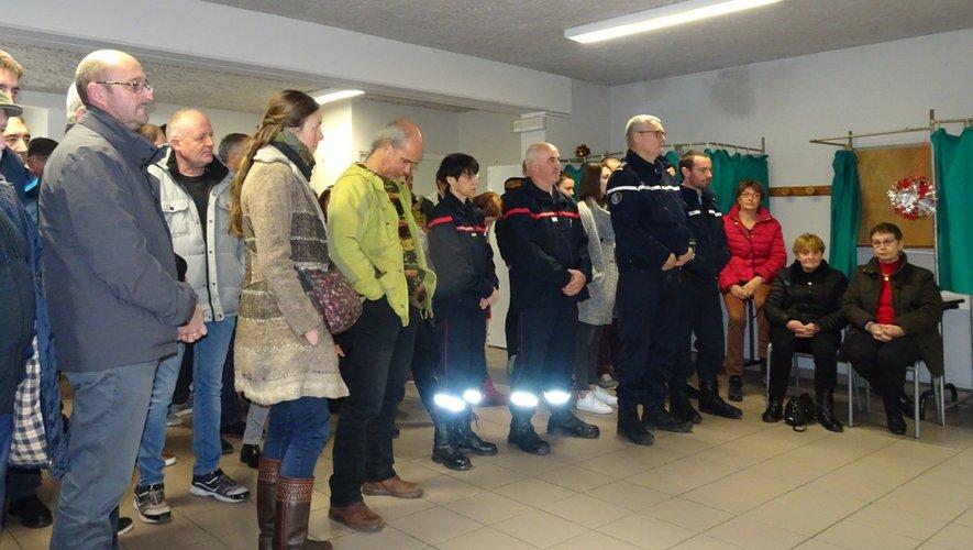 Les Alrançais étaient venus nombreux assister aux vœux du maire.