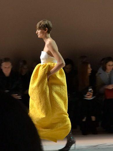 Le défilé Givenchy printemps-été 2020 pendant la semaine de la haute couture à Paris.