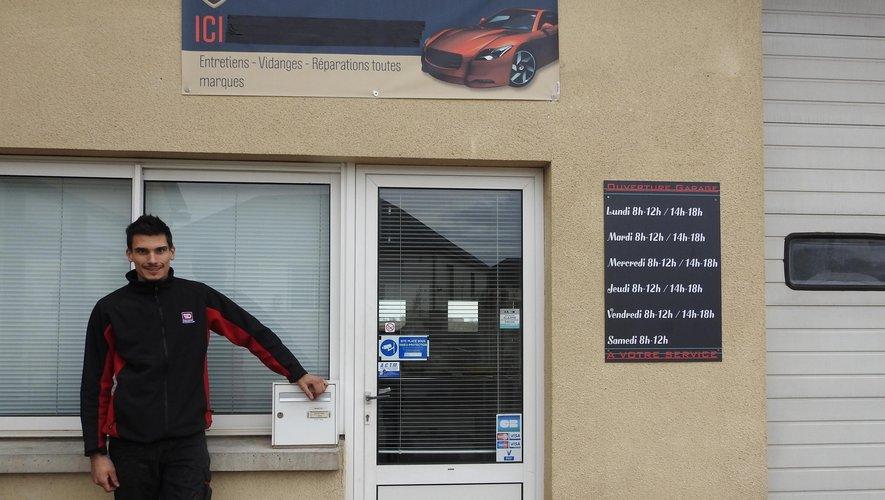 Luc Richez est désormais à la disposition des automobilistes à Ortholès