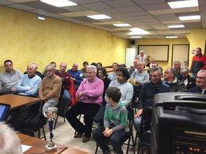 L'AG a eu lieu à la salle communale de Bessuéjouls.
