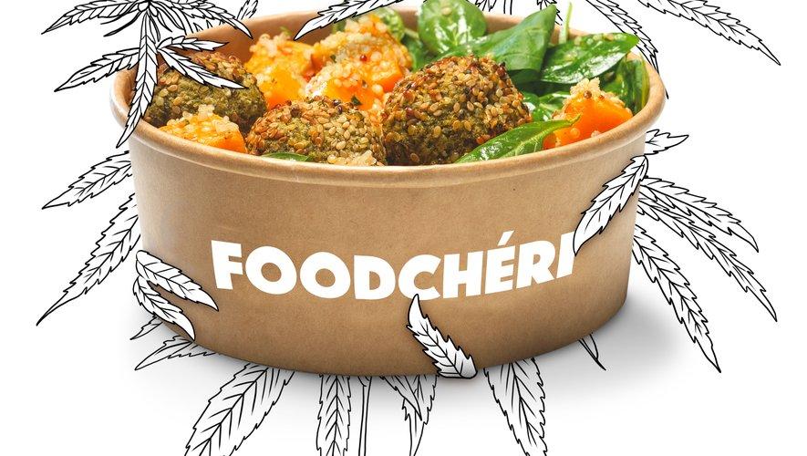 Foodchéri lance un menu enrichi en CBD à la fin du mois