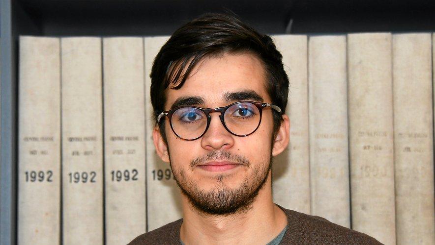 Le jeune baraquevillois fait des études d'informatique à Toulouse.