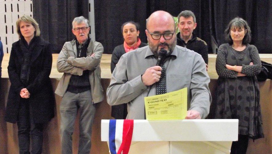 C'est avec beaucoup d'émotion que Christophe Méry a présenté ses derniers vœux à la population.
