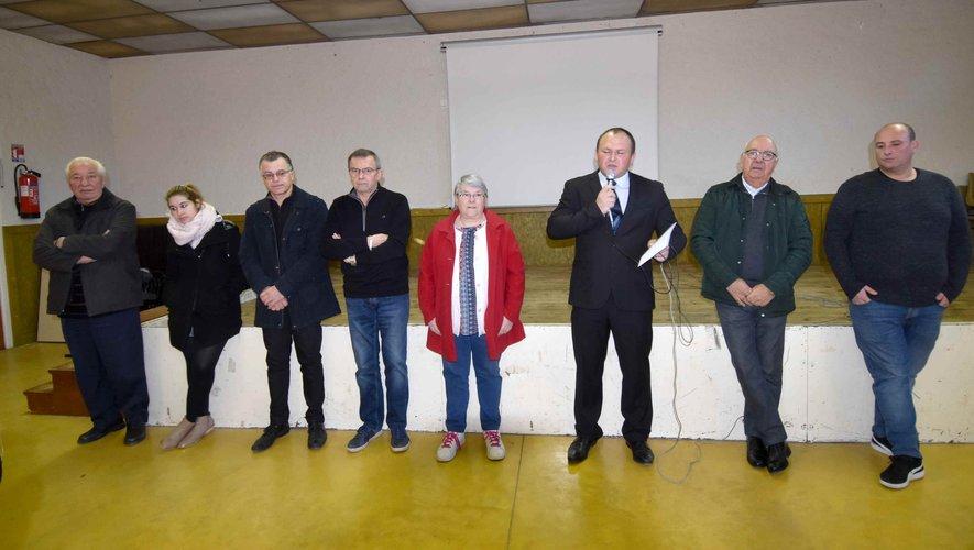 Le maire et le conseil municipal présentent leurs vœux