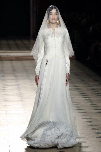 La mariée de Julien Fournié. Paris, le 21 janvier 2020.