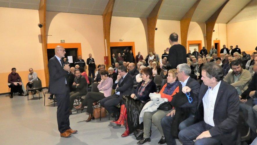 Stéphane Mazars a détaillé les actions et réalisations effectuées dans sa circonscription.