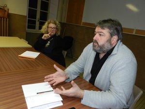 Camille Briançon a animé les réunions du collectif « Villefranche à gauche ». L'objectif d'une liste ne s'est pas concrétisé.