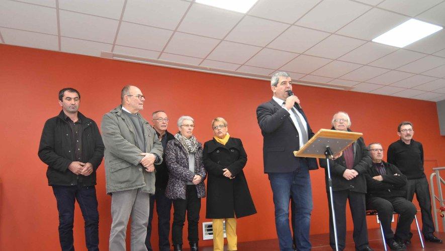 Le maire et son conseil municipal présentent leurs vœux.