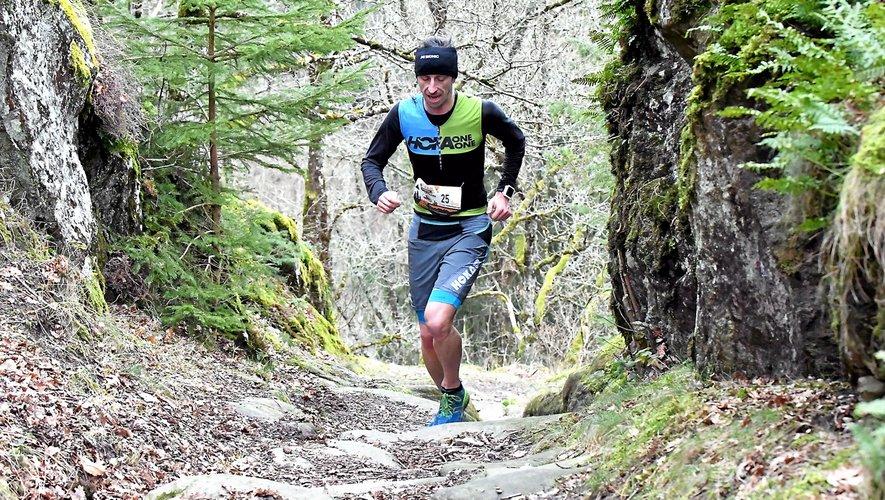 Sébastien Cantagrel, ici en solitaire, s'est imposé au sprint.