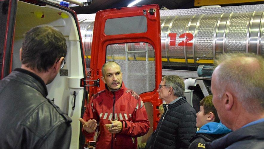 Jean-Marc Rozières officie à la logistique au Sdis. Il est également sapeur-pompier volontaire au CSP de Rodez.