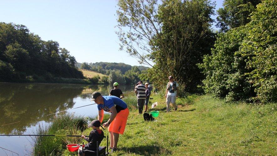 Lors d'un atelier d'initiation à la pêche l'an dernier.