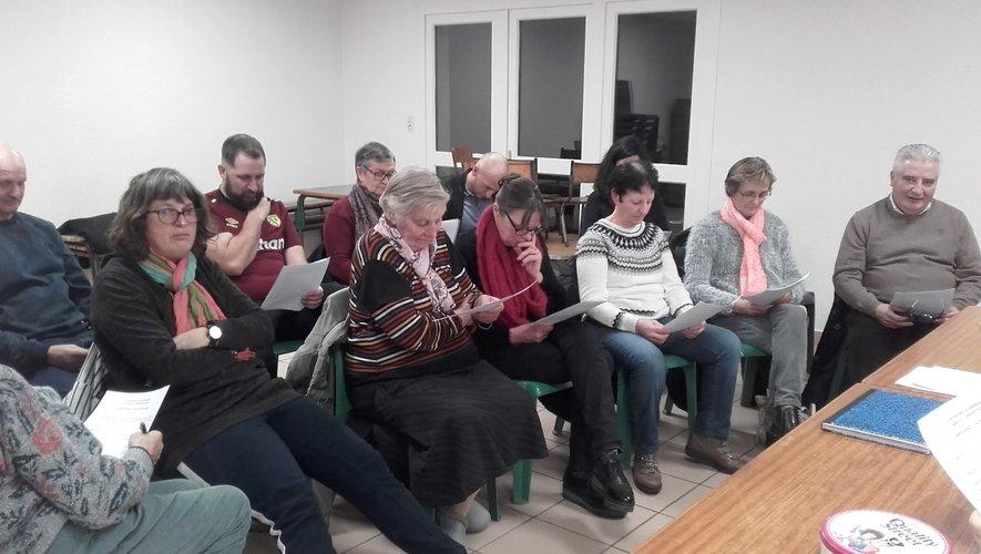 Les membres oeuvrent toute l'année pour animer la commune.