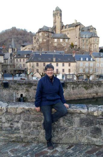 Chantal Marc, infirmière, est candidate à Estaing.