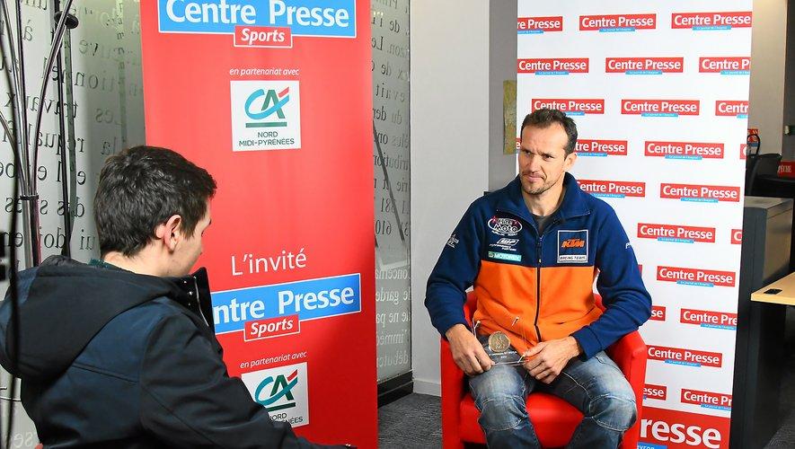 Florent Vayssade a terminé 36e au classement général du Dakar moto.