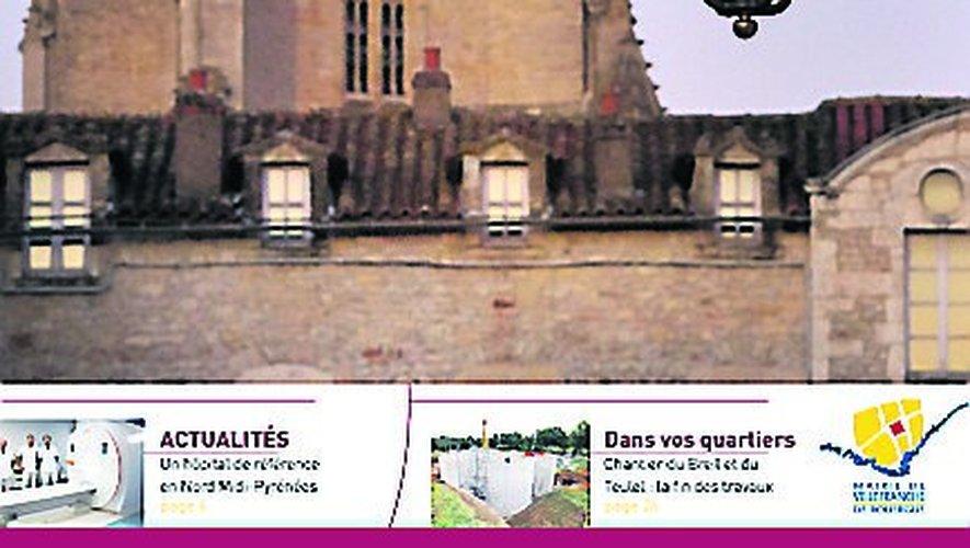 La couverture du nouveau magazine municipal.