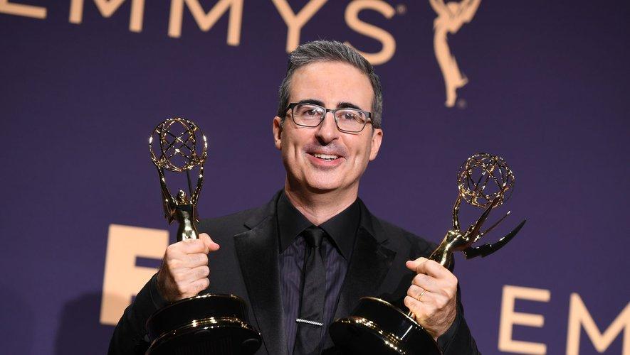 """L'émission satirique américaine """"Last Week Tonight with John Oliver"""" fait partie des programmes de non-fiction de HBO récompensés aux Emmy Awards."""