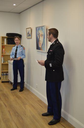 Une intervention de main de maîtredu commandant De Oliveiraet de la lieutenante Rossetto.