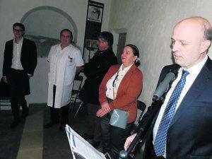 Le 14 janvier dernier, Bertrand Perin avait appelé de ses vœux l'autorisation de l'Ars pour la chirurgie des cancers urologiques.