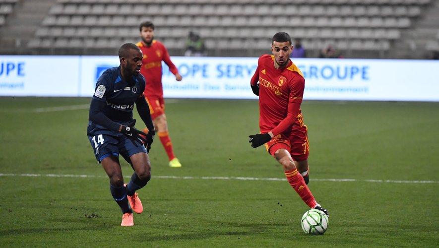 Nassim Ouammou et le Raf ont perdu trois de leurs quatre derniers matches à domicile.