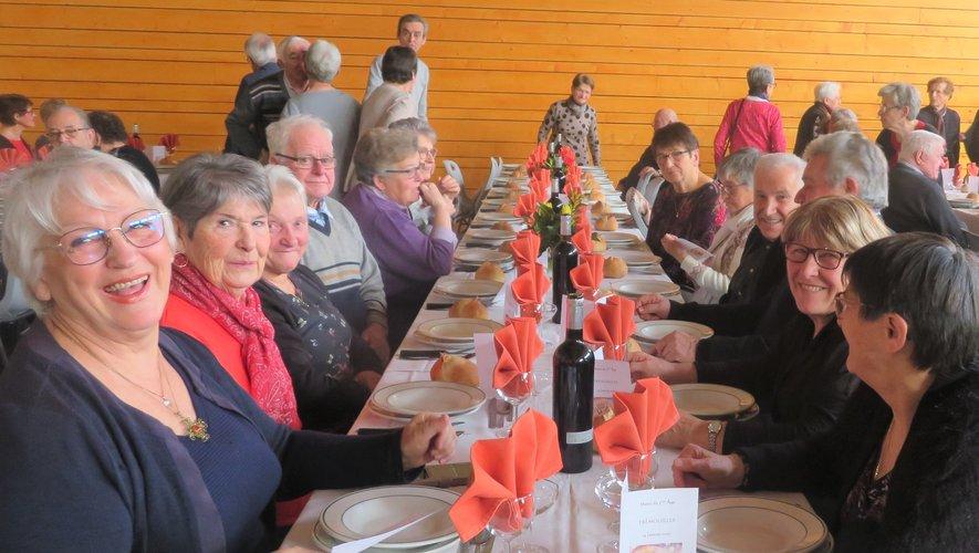 Club de l'Amitié : repas du nouvel an