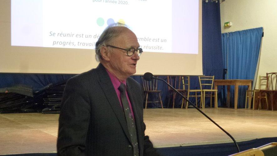 Le président Jean-Michel Lalle envisage sereinement l'avenir.