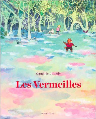 """""""Les vermeilles"""" est la première bande dessinée jeunesse de Camille Jourdy, 40 ans, auteure remarquée de la trilogie """"Rosalie Blum"""", adaptée au cinéma par Julien Rappeneau avec Noémie Lvovsky dans le rôle-titre."""