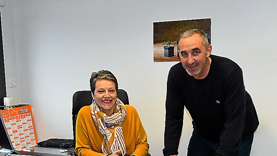 Mari et femme, Nicolas et Joëlle Sigal affichent la même complicité à la tête de leur entreprise.