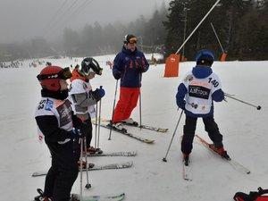 Les skieurs ont passé une super journée au Lioran.