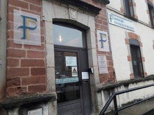 Le centre des finances publiques de Decazeville.