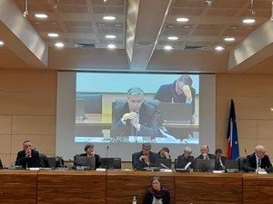 Jean-François Galliard a présidé le dernier débat d'orientation budgétaire de la mandature.