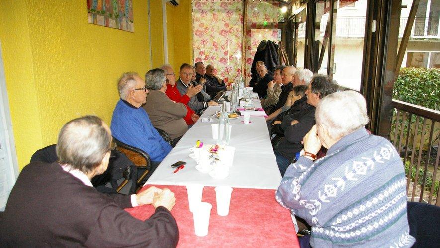 Les retraités ont débattu de nombreux sujets d'actualité.