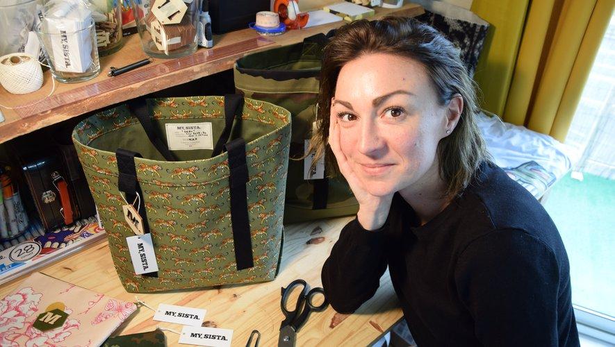 """Marie Carnus : """" Je voulais créer un lieu vivant, une boutique-atelier où je vais pouvoir proposer une sélection de tout ce qui m'inspire. """""""