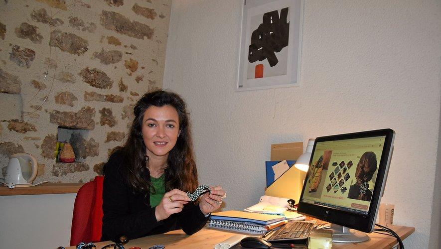 Laetitia Layrac a eu un véritable coup de cœur pour ces barrettes qu'elle propose désormais via un site marchand.RDS