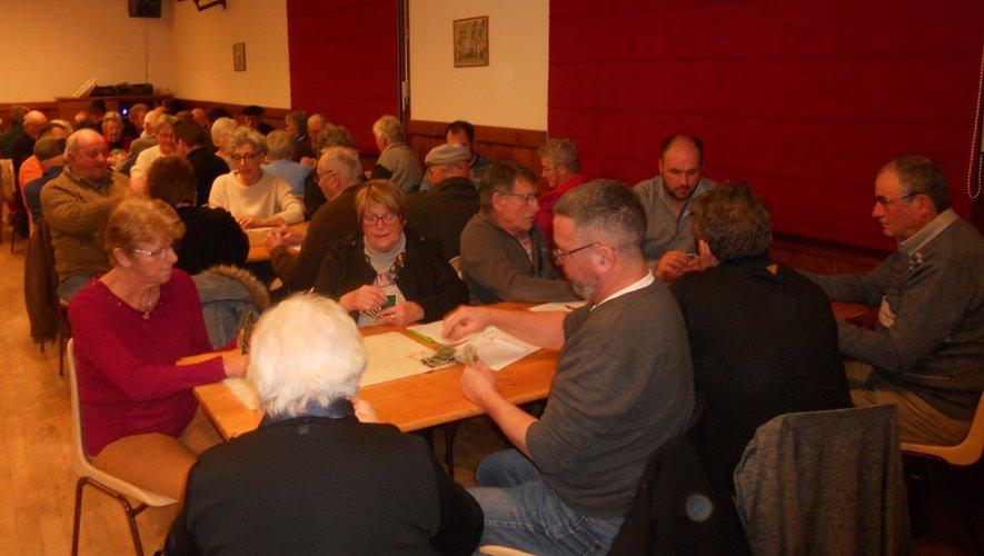 Les participants ont passé une belle soirée à Verrières.