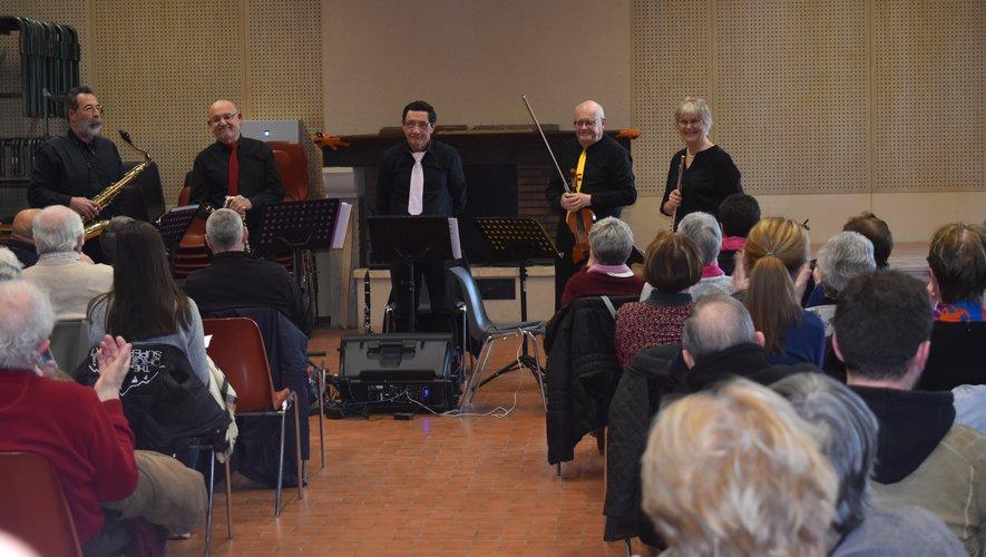 L'orchestre de chambre a séduit le nombreux public./Photo DDM