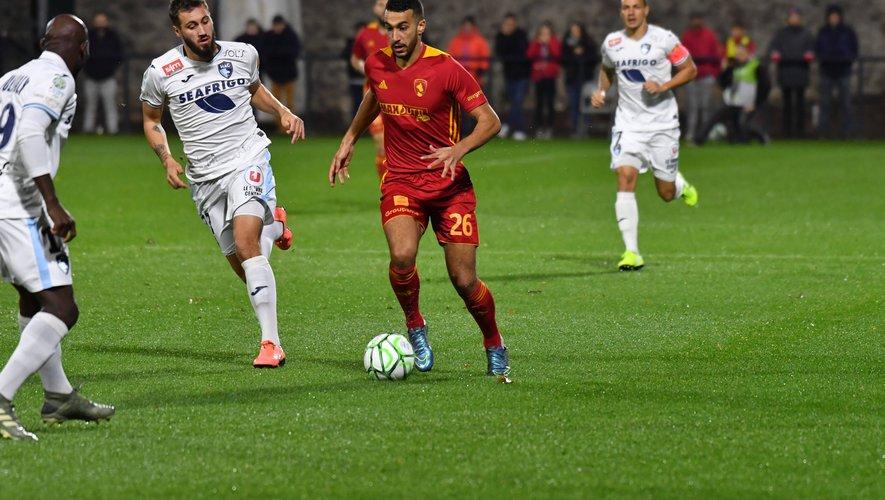 Ayoub a inscrit deux buts depuis le début de la saison.