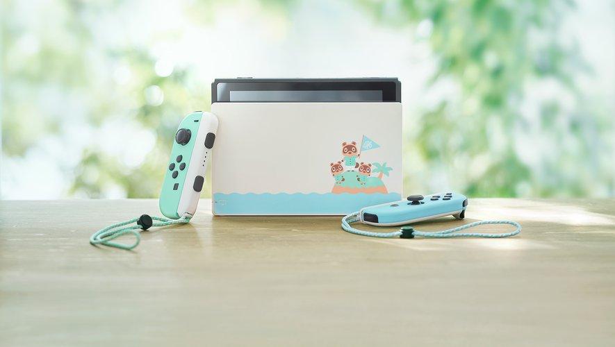 """L'édition spéciale de la Switch """"Animal Crossing New Horizons"""" sortira en France le 20 mars"""