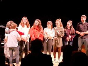 Les élèves ont accompli une superbe prestation qui a permis au public de rêver et de… décrocher des étoiles.