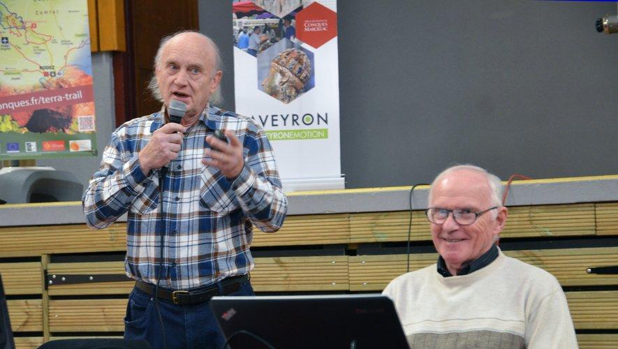 Jean Rudelle et René Tomczak ont rappelé les liens très forts qui unissaient le Bassin au Vallon et au Cause Comtal.