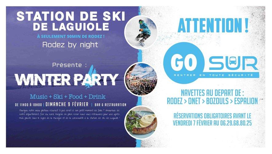 """La """"Winter Party"""" espère 200 personnes et surtout la neige !"""