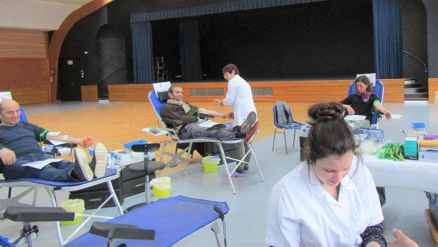 Quatre-vingts donneurs de sang mobilisés