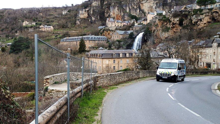 C'est à l'entrée du village de Salles-la-Source, en descendant de Rodez, que les travaux nécessitant la fermeture de la route auront lieu.