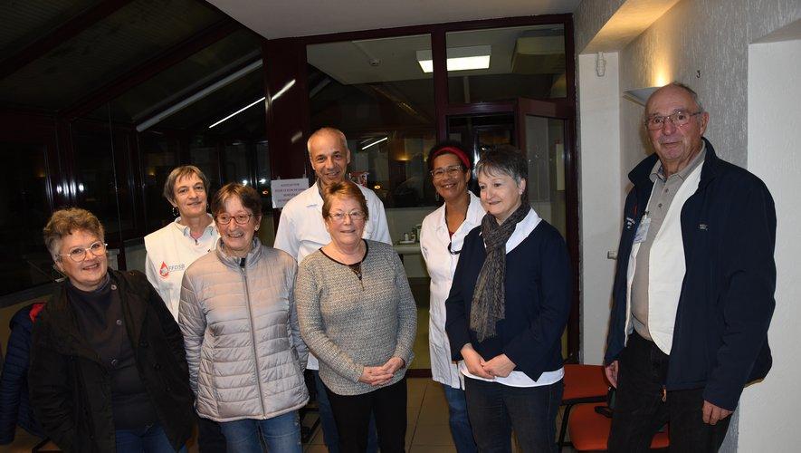 Daniel  Le  Derff et son équipe accueillait la Retraite Sportive.