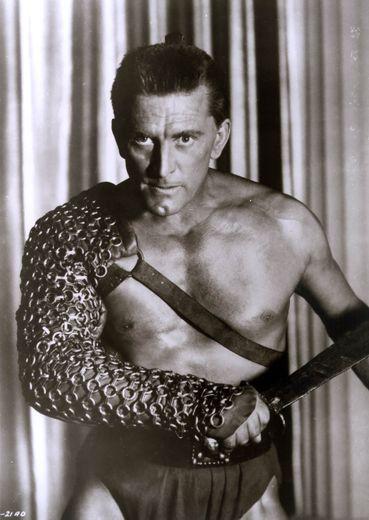 """Kirk Douglas dans le film """"Spartacus""""."""