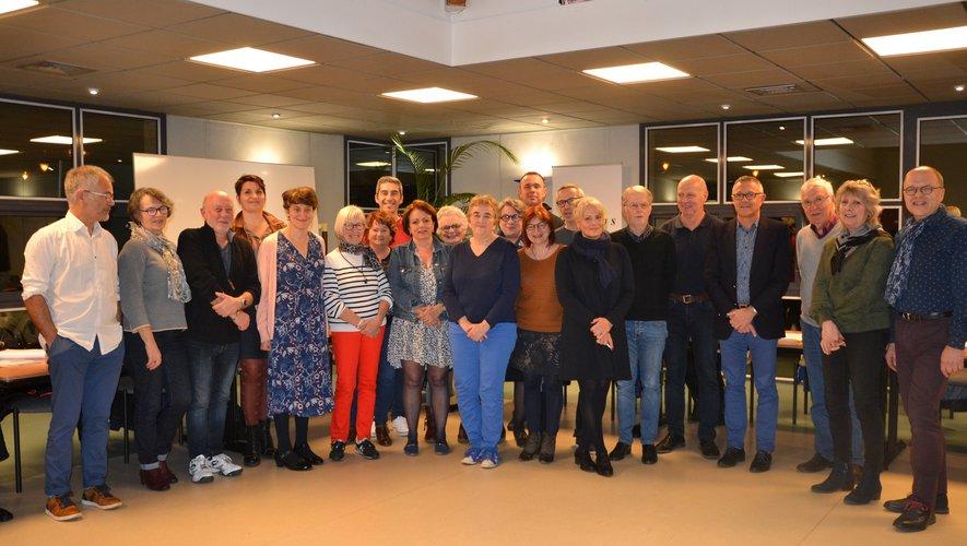 L'équipe municipale s'est  réunie une dernière fois avant les élections.